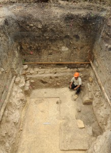 Mayan civilization: An early elite residence at Ceibal, about 750 B.C. (Takeshi Inomata/University of Arizona)