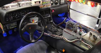 Time Travel: The DeLorean Time Machine
