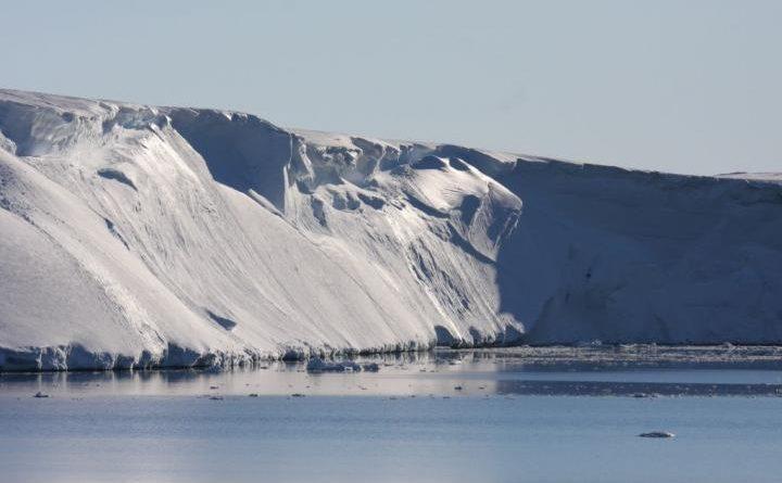 Climate Change Strikes Totten Glacier in Antarctica