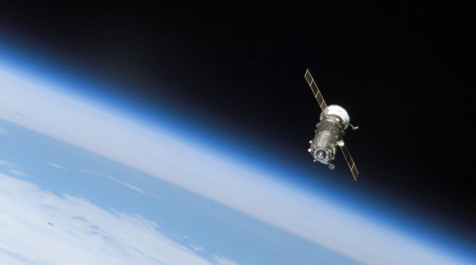 unknown spacecraft orbiting earth-#11